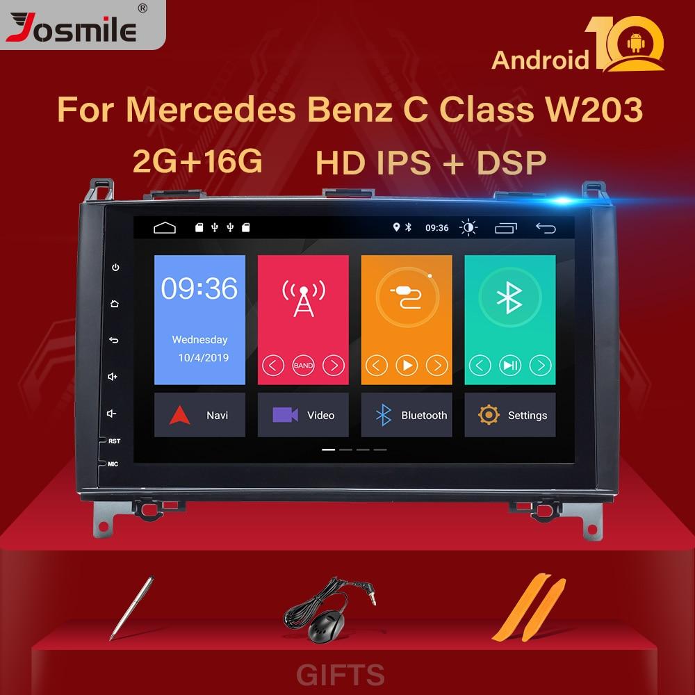2 din android 10 Car Radio for Mercedes Benz B200 Sprinter W906 W639A B Class W169 W245 Viano Vito Multimedia GPS Stereo Audio