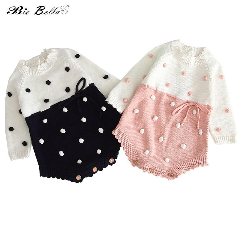 Kids Sweaters Girls Fashion Kids Baby Warm Lovely Cute Bodysuit Infant Newborn Girls Kid Sweater Autumn Winter Baby Sweater