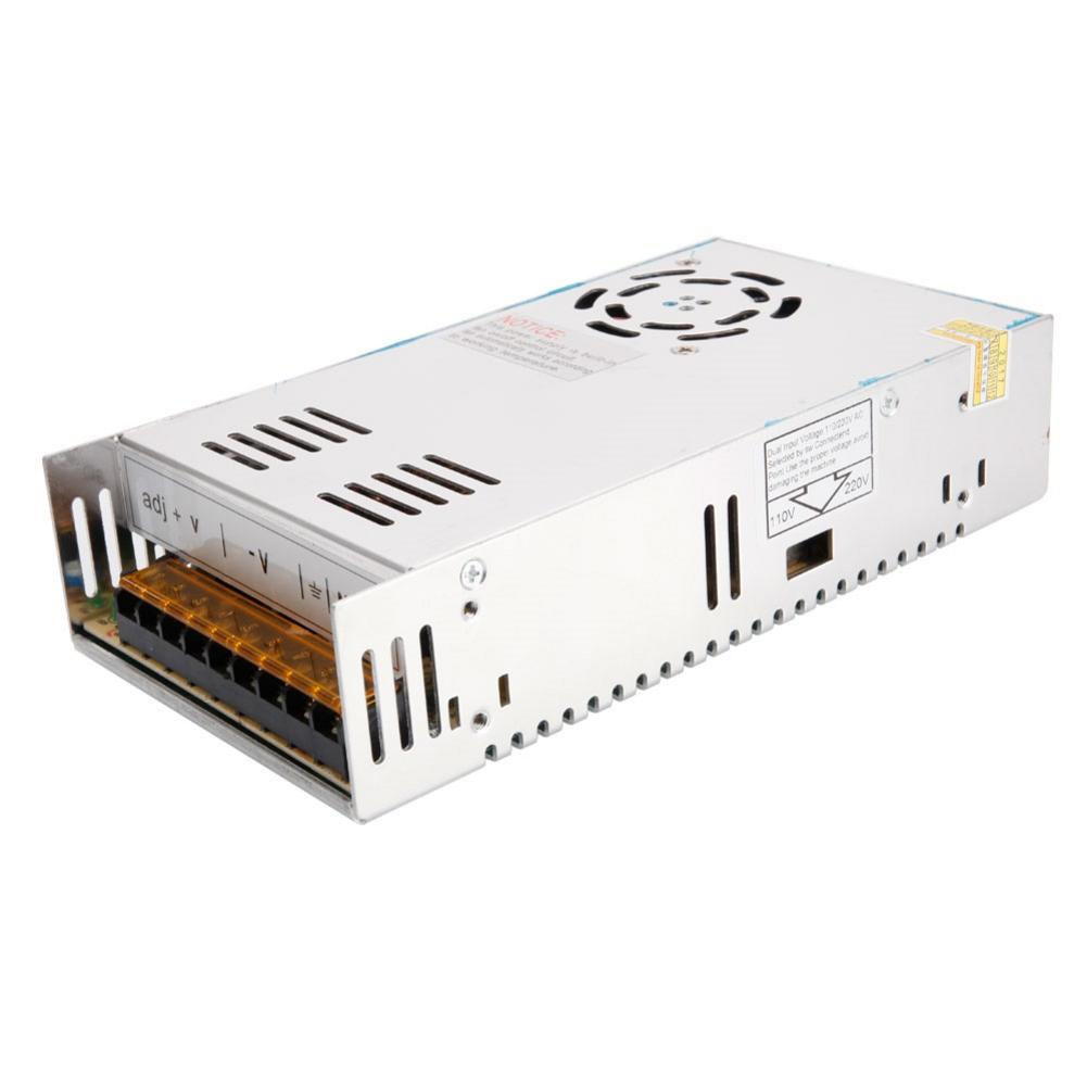 Sobrecarga de la fuente de alimentación conmutada/sobretensión/cortocircuito para iluminación LED 24V DC 12V almacén de EE. UU. Envío rápido 6A 10A 33A