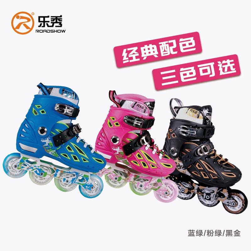 Berufs Inline Skates Kinder Rollerblade Roller Einstellbare Skate Schuhe für Männer Frauen Schiebe Freies Skating Patins 4 Räder