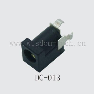 شحن مجاني 100 قطعة/الوحدة DC013 تيار مستمر جاك/السلطة شحن المقبس أنثى pin2.0/2.5 موصل