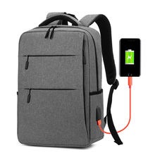 2021 New 15-inch Rechargeable Backpack Men and Women 14-inch Laptop Backpack 15.6 Business Backpack