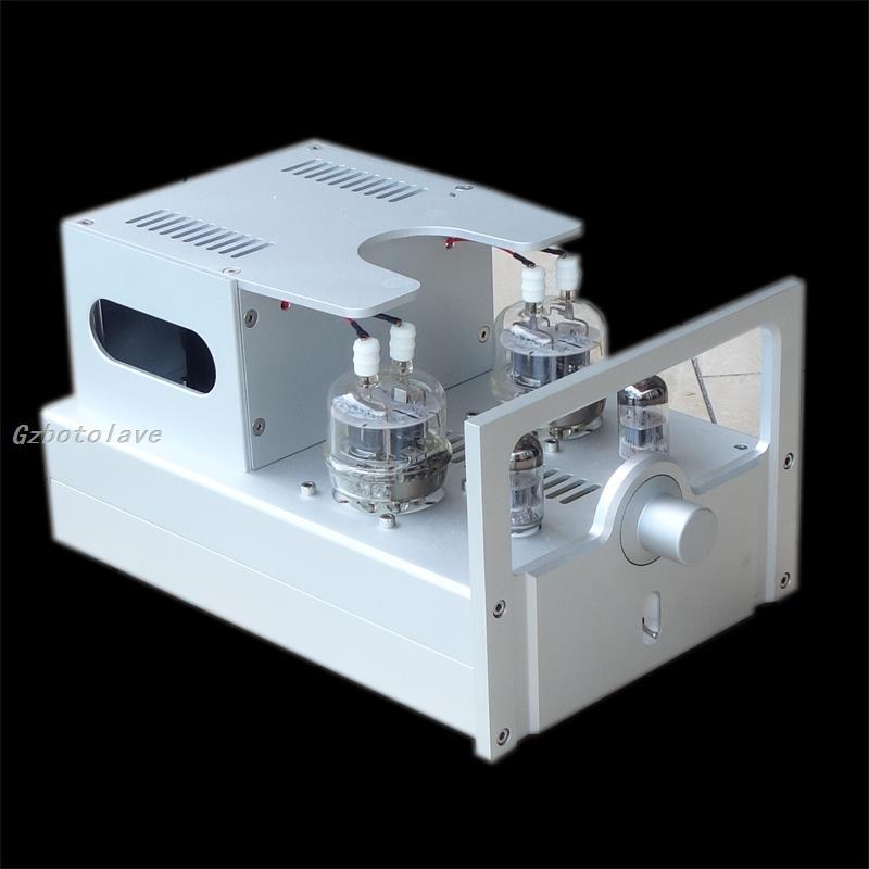WEILIANG AUDIO FU32 tube power amplifier Hifi A-100 Stereo 10W+10W Class A Desktop Amp