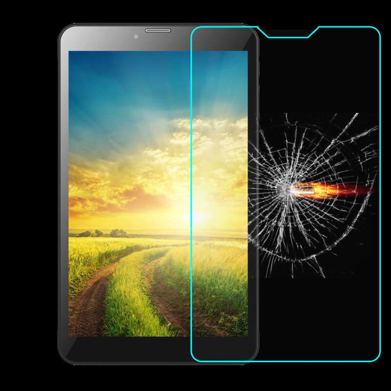 "Universal templado protector de pantalla de película de vidrio para RoverPad aire Q8 S8 8,0 3G/C8/Q8/cielo Q8 8 ""pulgadas tablet"