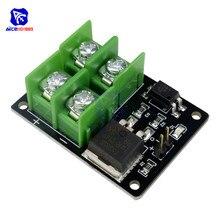 3V 5V Baixo Controle de Alta Tensão 12V 24V 36V Interruptor Mosfet Módulo para Arduino Conectar MCU IO PWM Controle de Velocidade Do Motor 22A