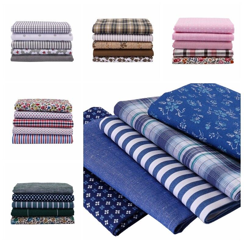 Vintage leinen baumwolle stoff innen design probe tuch Japanischen Koreanische handarbeit patchwork nähen stoff 25*25cm 5 teile/paket p33