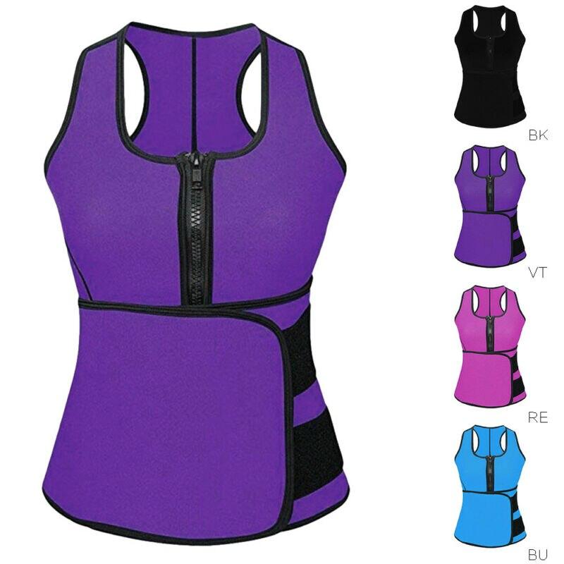 S-4XL Body Shaper Men&Women Plus Size Waist Trainer Shapewear Vest Workout Neoprene Slim Sweat Slimming Belt XXXXL XXXL XXL XL L