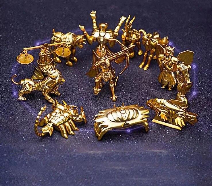 12 pièces/paquet Saint Seiya Constellation modèle figurine jouets