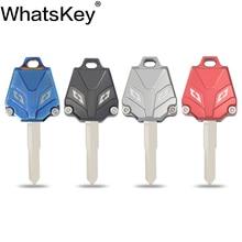 WhatsKey Motorrad Schlüssel Abdeckung Fob Fall Shell Für YAMAHA YZF MT09 MT07 MT03 FZ8 R3 R1 R6 FZ1 FZ4 FZ6 TZ125R XJR1300 FJR1300 XJ6