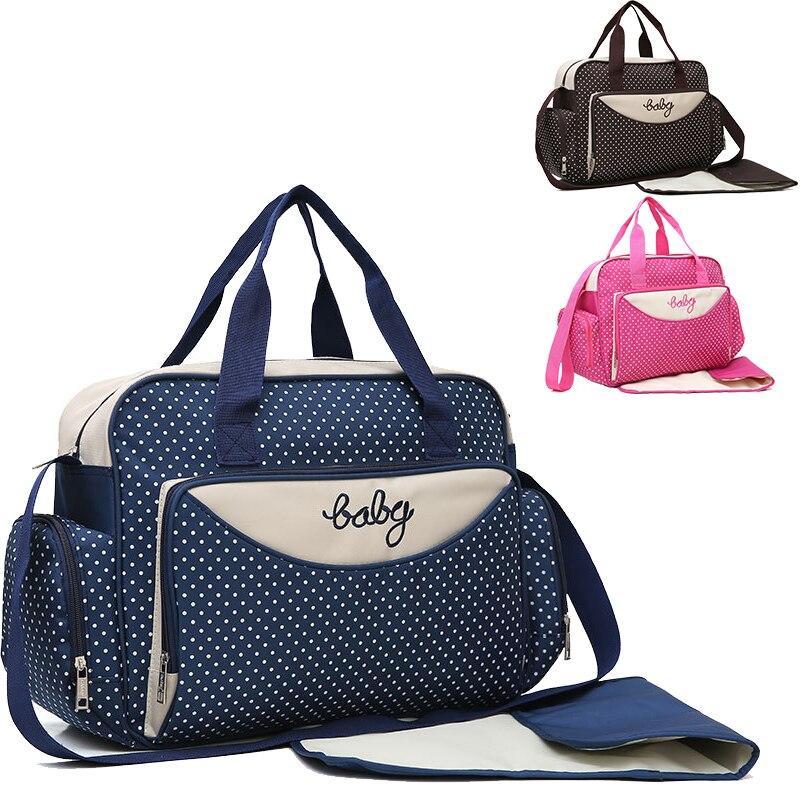 Hot Sell Diaper Bag One Shoulder Baby Bag Women Travel Handbag for Baby Nursing Mummy Maternity Nappy Bag Luiertas недорого