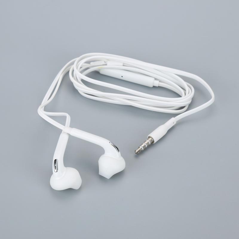 1pc durável super bass 3.5mm jack in-ear fone de ouvido com fio fone de ouvido fones de ouvido com microfone para samsung galaxy s6 para jogo de vídeo
