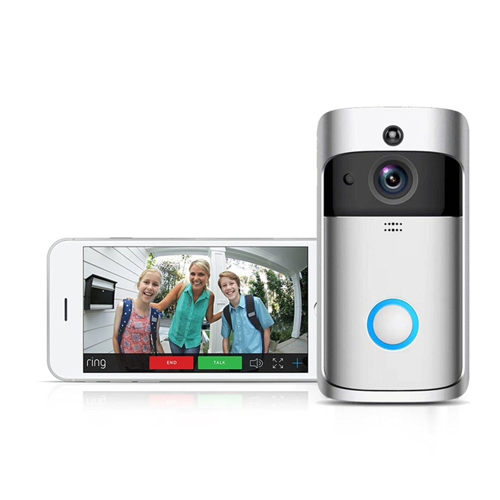 New Smart Video Monitor Long Standby Doorbell Wireless WiFi Phone APP Control Alarm Door Ring Intercom With Camera Home Security enlarge