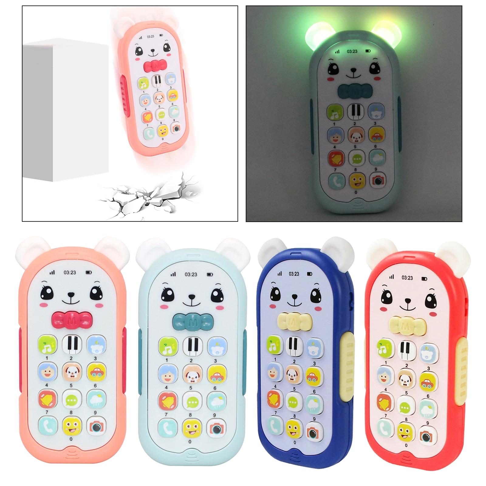 Детский телефон игрушка мобильный телефон раннее образование обучающая машина детский телефон музыкальная звуковая машина детский мини-т...