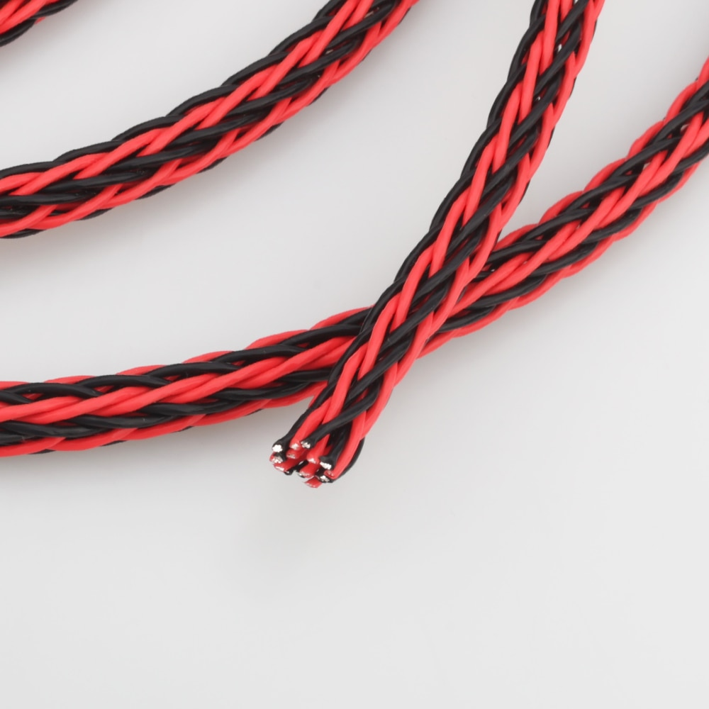 Cable de alambre Chapado en plata de cobre para parlante, amplificador de...