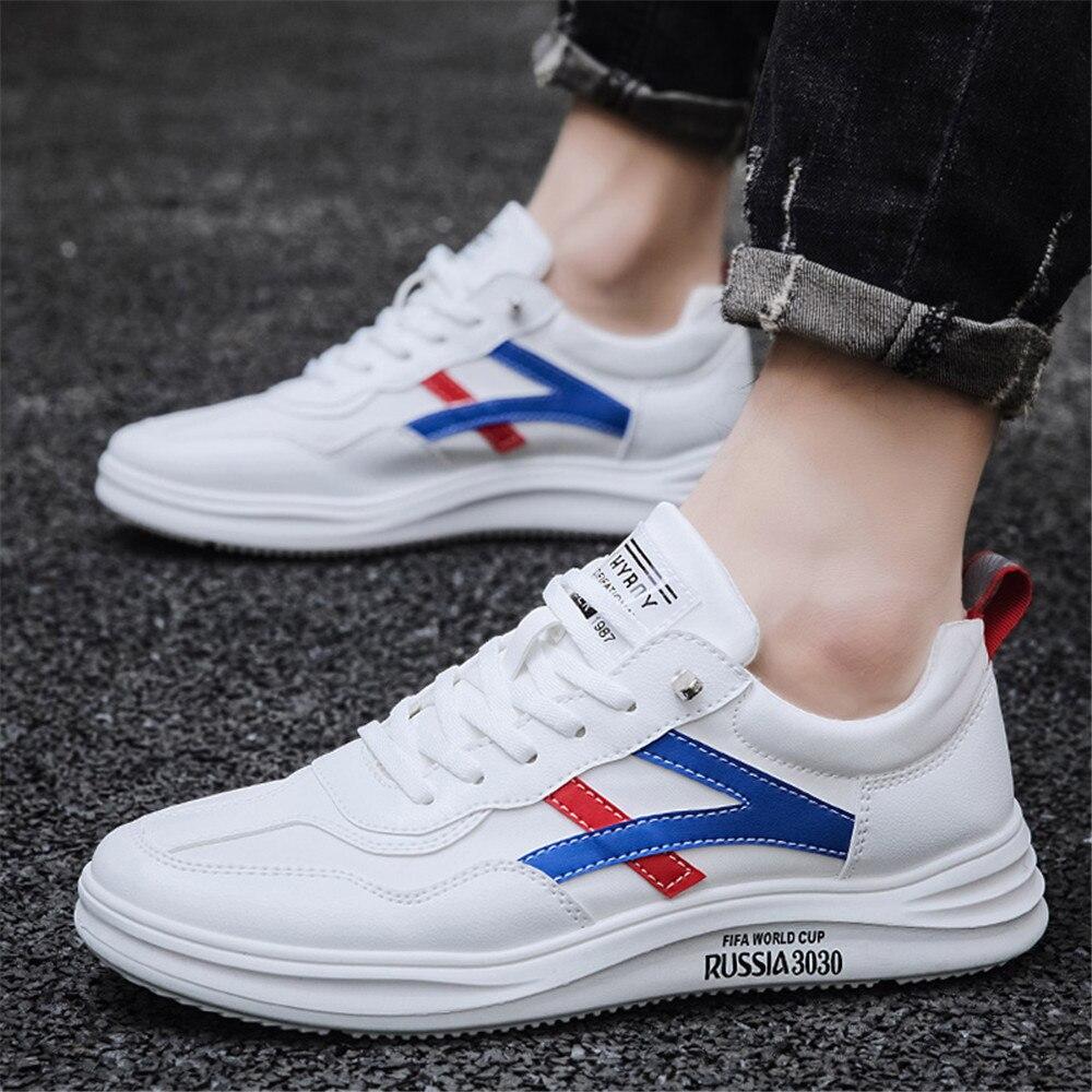 Весна-Осень 2021, популярные Стильные Молодежные Трендовые туфли на плоской подошве, популярные Стильные дышащие маленькие белые мужские туф...