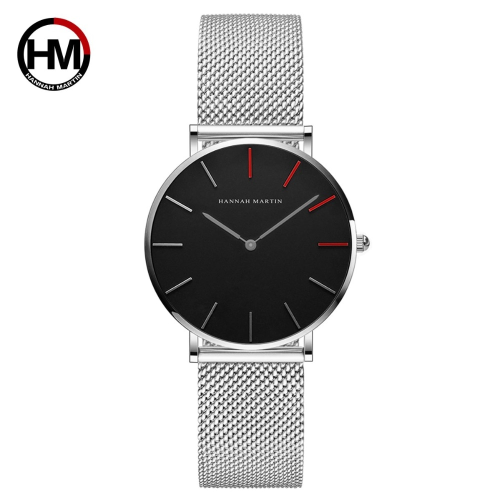 Women Watches Fashion Casual Japan Quartz Movement Waterproof Top Luxury Brand Stainless Steel Mesh Strap Ladies Wristwatches enlarge