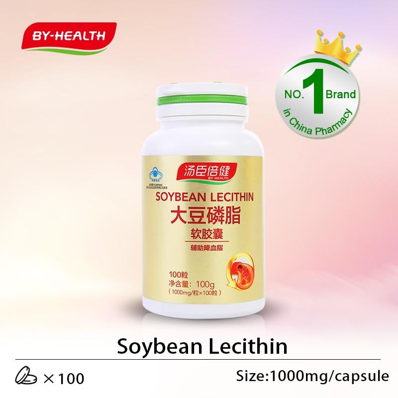 Lecitina de soja by-health 100s (exp 12/2021)