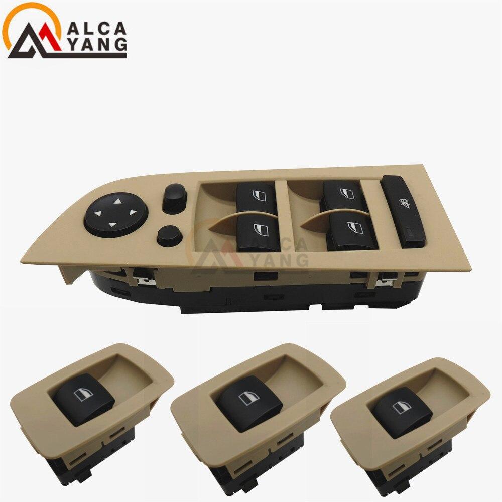 Beige interruptor de la ventana para BMW E90... E91... 323i... 325i... 328i... 330i... 335i Xi 2006-2011, 2007, 2008, 2010, 61316945876