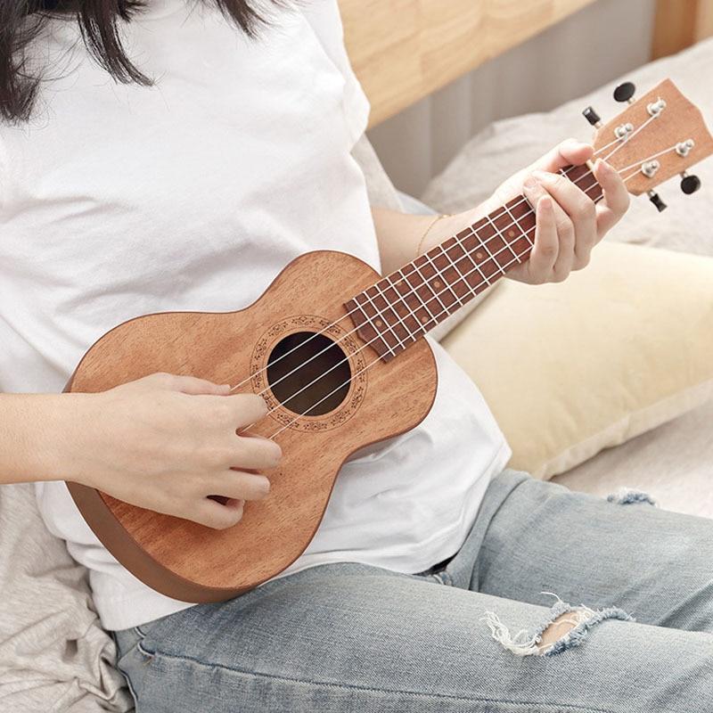 Baritone Ukulele Original Jazz Barato Travel Set Pink 4 String Small Guitar 23 Inch Classical Perform Guitarra Sports ZZ50YL enlarge