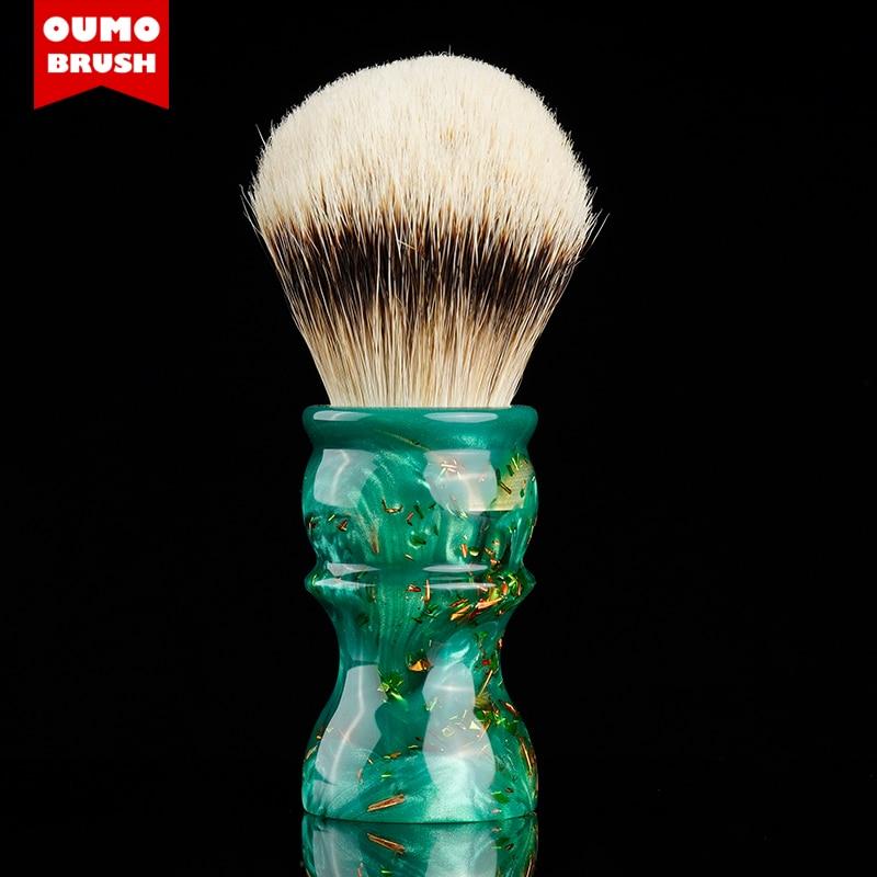 OUMO BRUSH -Pandora serires badger shaving brush with Manchuria/ACE/SILK/HOOK/WT knot