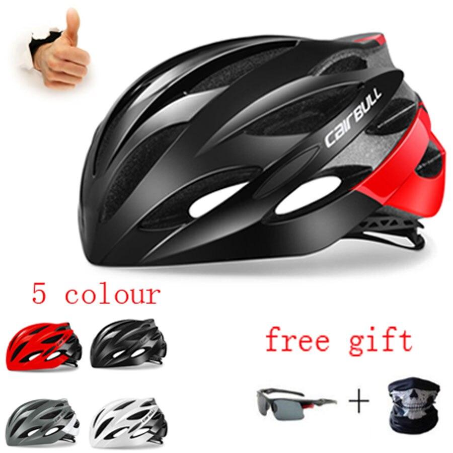 Cairbull-Casco ultraligero para Ciclismo, con gafas De sol, para Ciclismo De montaña...