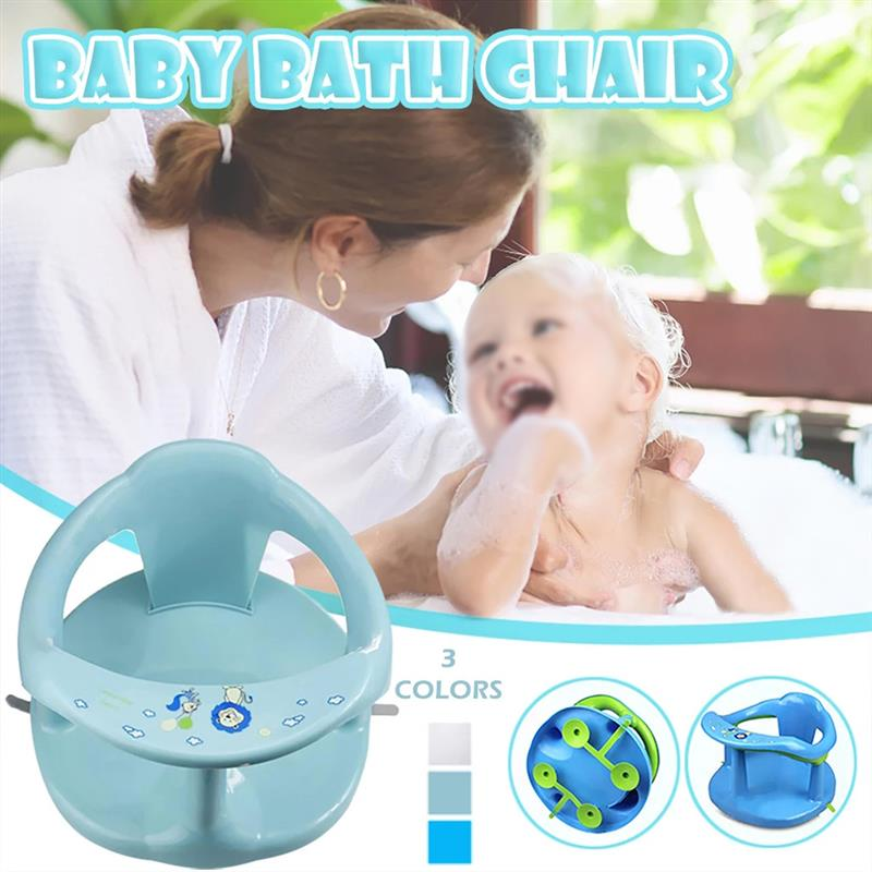 Bath Seat for Baby Baby Bathtub Seat for Sit-Up Bathing Baby Bath Support with Backrest Support and Suction Cups for Stability