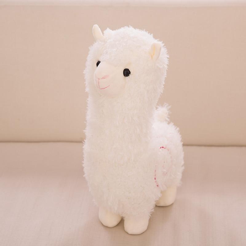 28cm Cute Alpaca Plush Toy Baby Kids Appease Sleeping Pillow Doll Animal Lama Stuffed Soft Toy Birthday Gifts For Girls Children