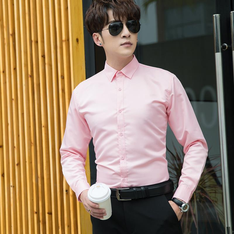 Personalizar camisa manga larga para hombre personalizar prendas de vestir sociales publicidad camisa A495 impresión streetwear