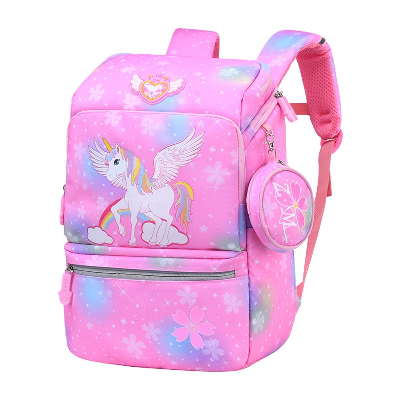 Cute Cartoon Backpack Girl nylon Unicorn Backpacks Cute Fashion boy Backpacks Children Schoolbag Kids Gift school Book Bag