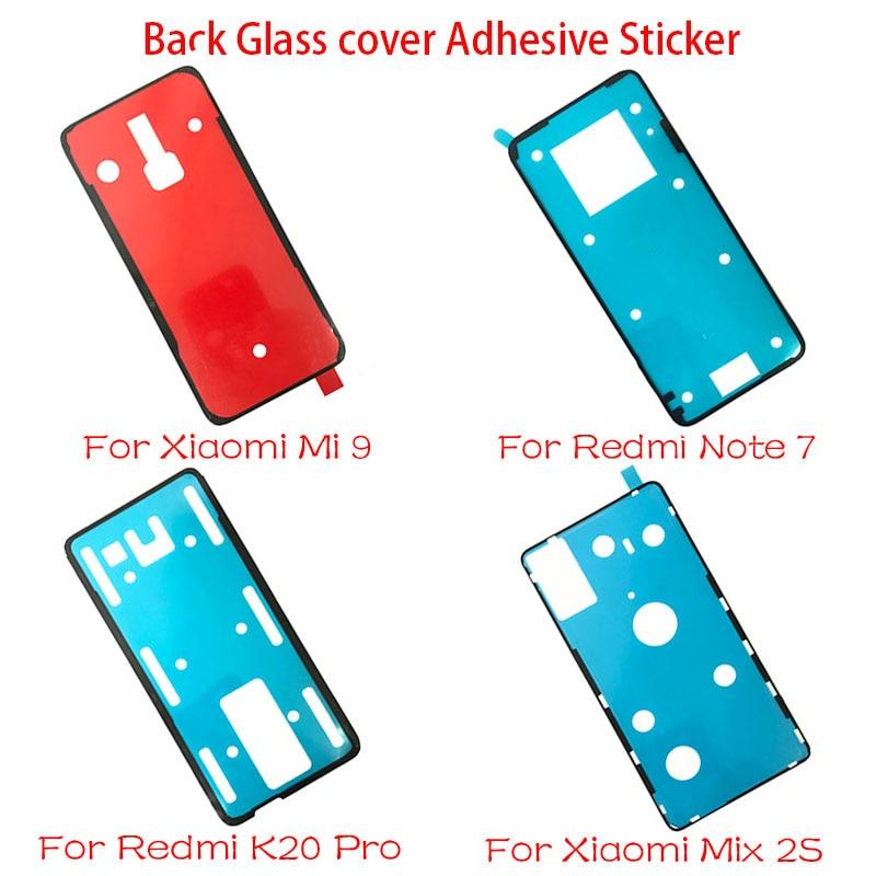 Adhesivo adhesivo para puerta Xiaomi Mi 9 Mix 2S / Redmi Note 7 8 K20 Pro, 5 unidades por lote, adhesivo