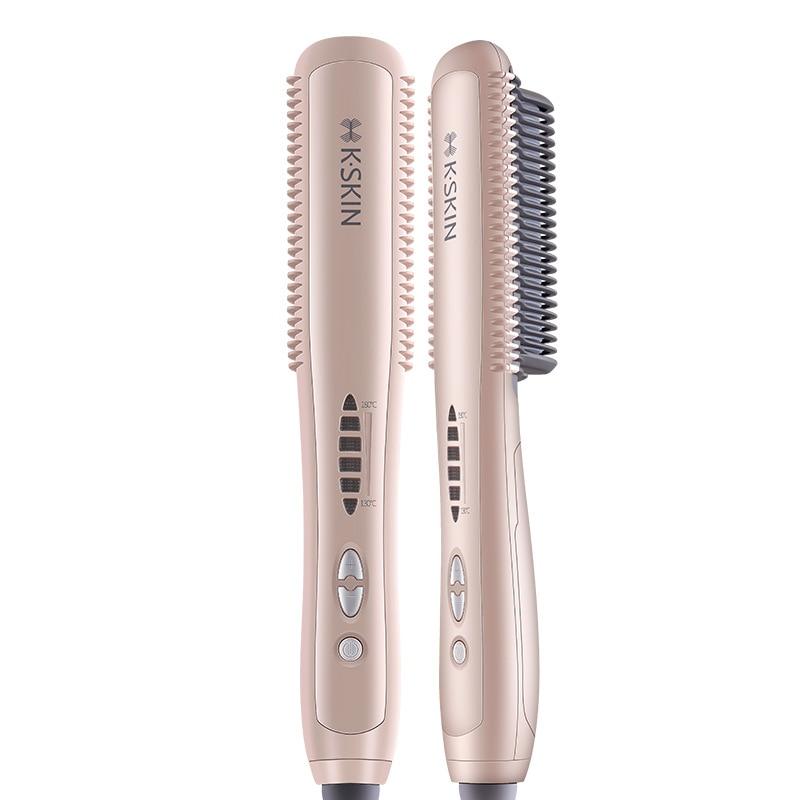 Golden Rice KD388A Straight Comb Lazy Automatic Straightener Hair Sticks Splint Straight Hair Curls Dual-Use Inner Buckle Curls