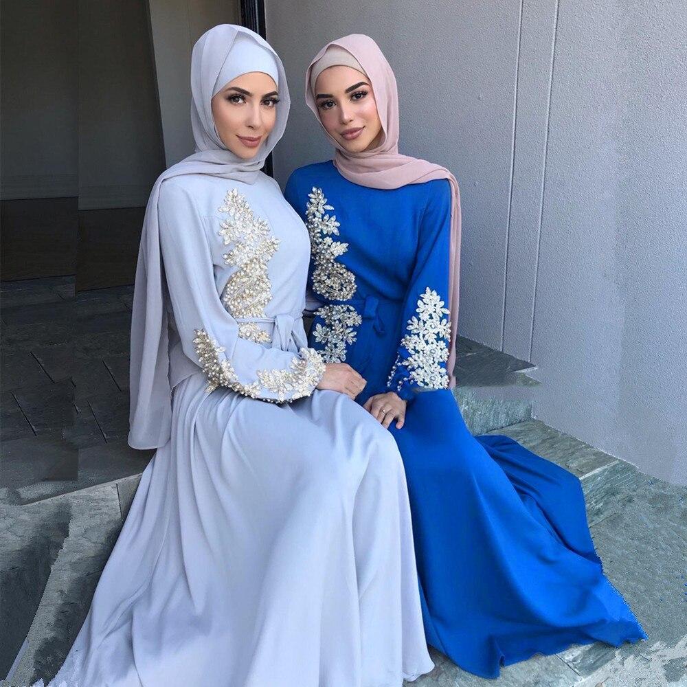 Рамадан Кафтан Дубай Abayas индейка мусульманский модный хиджаб мусульманское платье женское Caftan Marocain длинные африканские платья для женщин