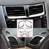 6 قطعة. مكيف هواء ABS كروم لسيارات هيونداي سولاريس فيرنا أكسنت سيدان هاتشباك 2011-2016