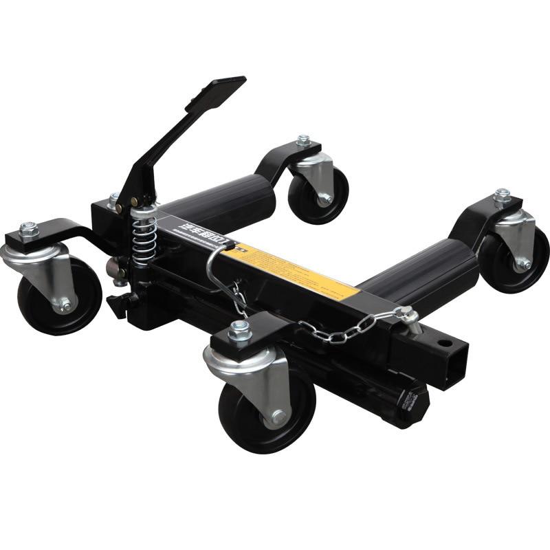 Автомобильный мобильный ручной гидравлический прицеп, движущееся устройство для автомобиля, прибор для удаления препятствий, 4 набора