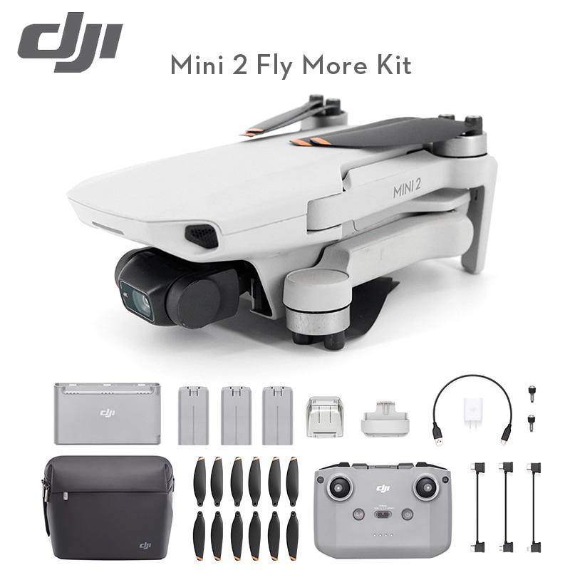 DJI أحدث Mavic كاميرا صغيرة 2 طائرات بدون طيار 4K كاميرا المهنية لتحديد المواقع كوادكوبتر 10 كجم نقل المسافة Mavic صغيرة 2 في الأوراق المالية
