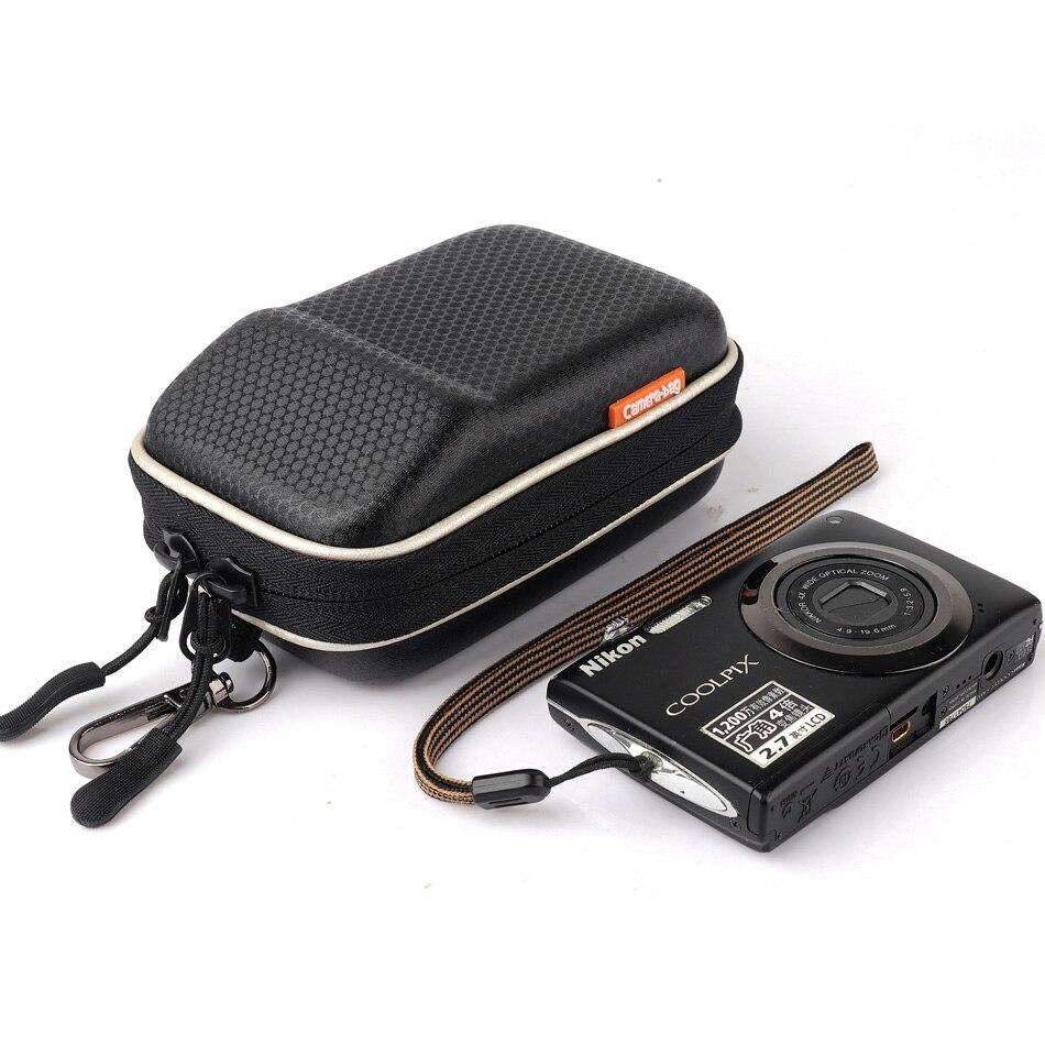 Cámara Digital caso duro para Canon Powershot G7X G9X Mark II 2 SX730 SX710 SX720 HS SX150 SX160 es Olympus TG5 TG-5 cintura