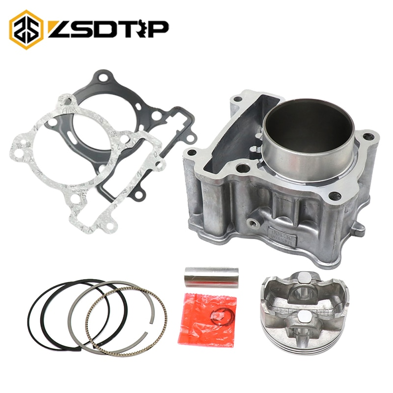 ZSDTRP LC135 Y15ZR FZ150 62mm Kit de cilindro de gran diámetro para Yamaha LC135 motocicletas Cyclinder ensamblaje