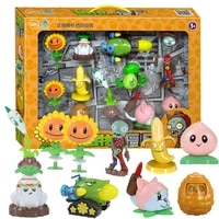 full set action figure shooting anime games silicone toys christmas birthday gifts for children