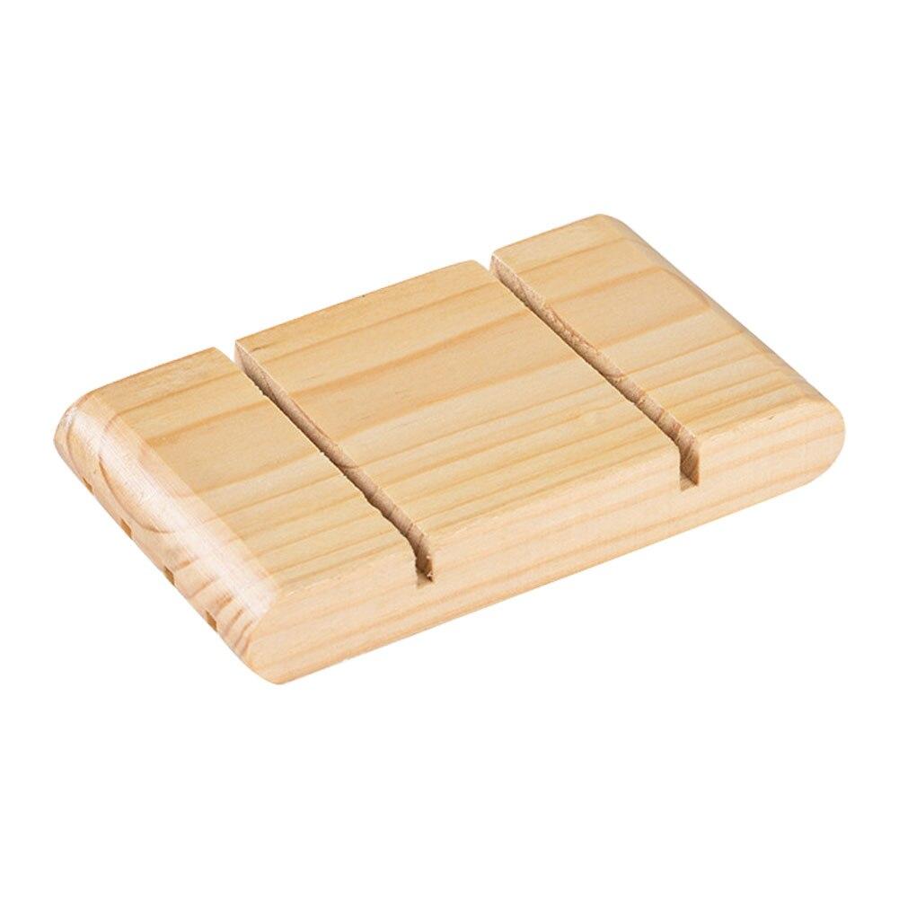 Jabonera duradera superficie lisa accesorios de baño hogar Baño Hotel Mini drenaje portátil agua estilo japonés caja de almacenamiento
