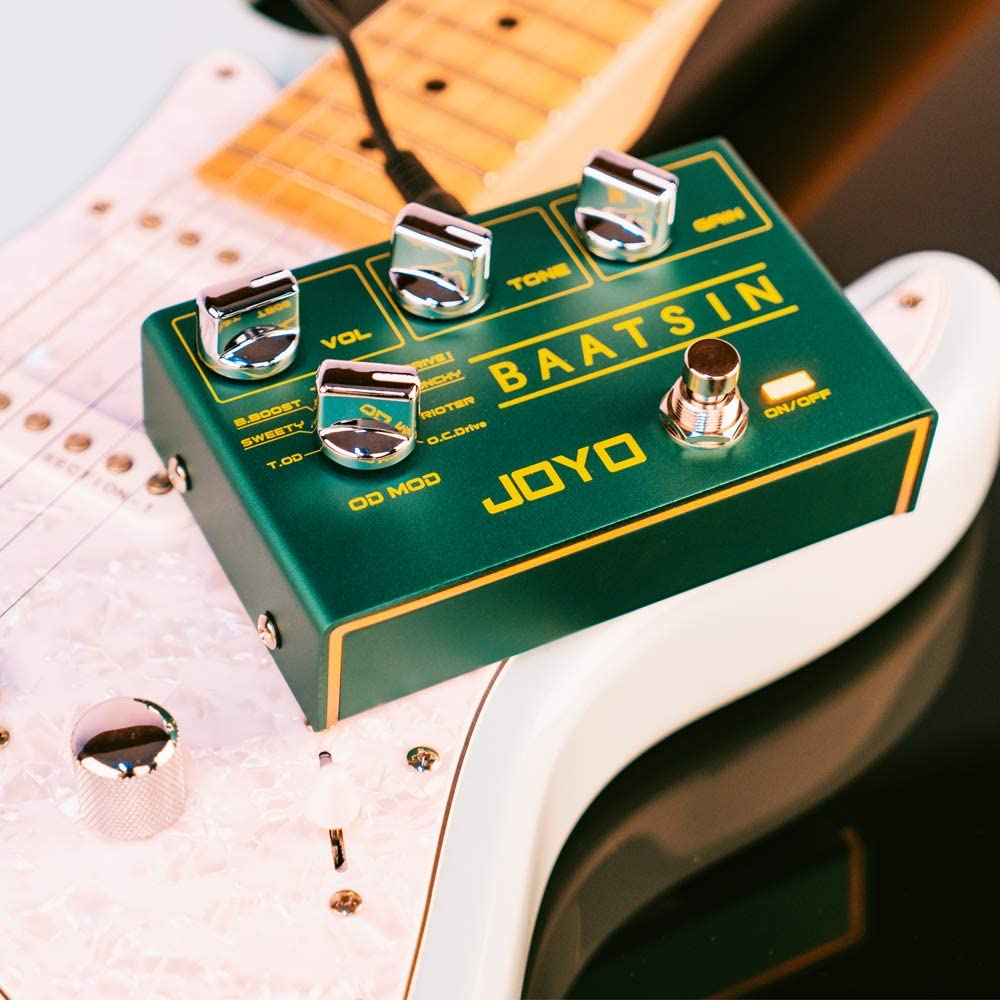 Joyo R-11 Baatsin Classic Overdrive Pedal 8 Different Od/ds Distortion Effect Pedal Board Station Effector enlarge