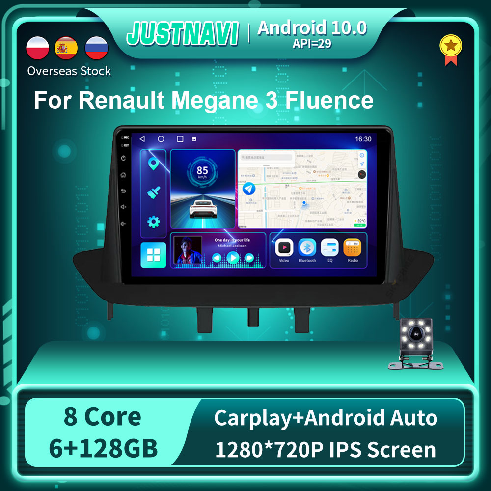 Фото - Мультимедийная Автомагнитола DSP Android 2008 с GPS для Renault Megane 3 Fluence 2014-128 проигрыватель OBD Carplay 6G стерео No 2 din DVD автомагнитола jmcq 2 din android 10 для renault megane 2 2002 2009 мультимедийный видеопроигрыватель с сенсорным экраном gps rds dvd