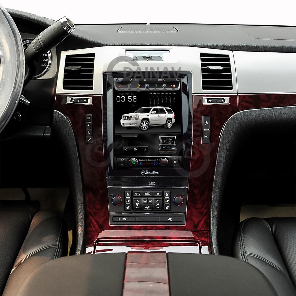 Vertical Screen Car GPS Navigation For Cadillac Escalade 2007 2008 2009 2010 2011 2012 Radio Multimedia Stereo Player