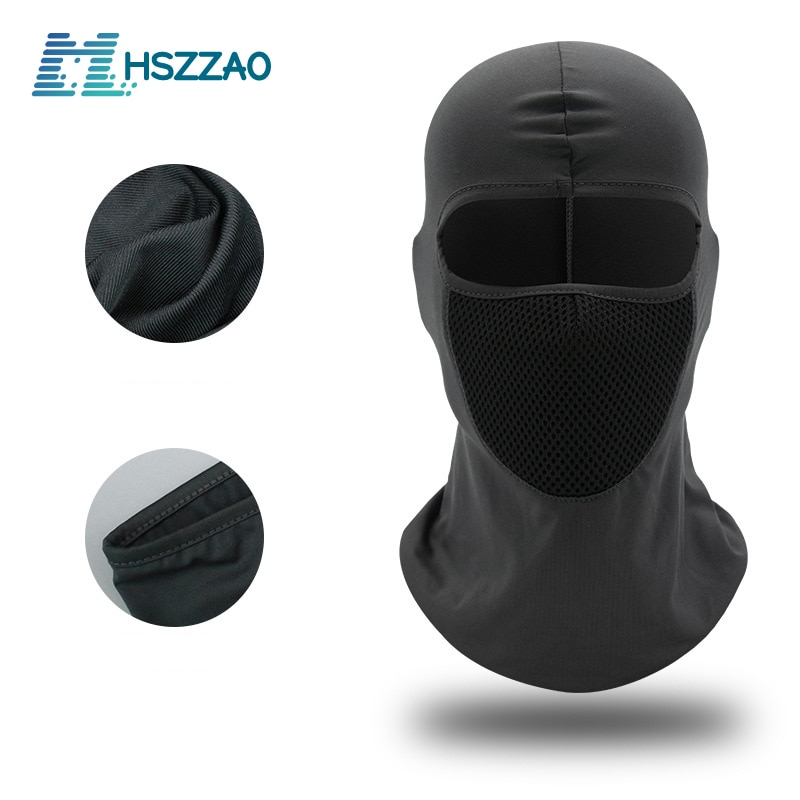 Motorcycle Sun protection and dustproof headgear riding hat hood windproof outdoor tactical riding hood mask mask dust mask jaisati outdoor riding equipment mask dustproof and windproof sports bicycle masks