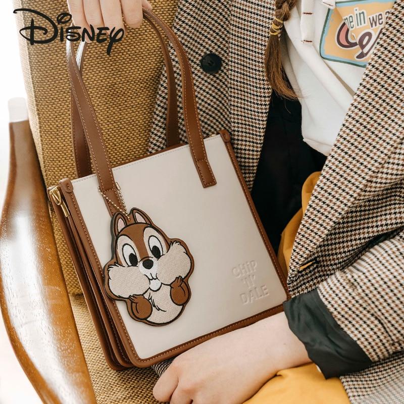 Disney Cartoon Luxury Ladies Shoulder Bag Fashion Casual Storage Bag Large Capacity Multifunctional High Quality Girl Handbag