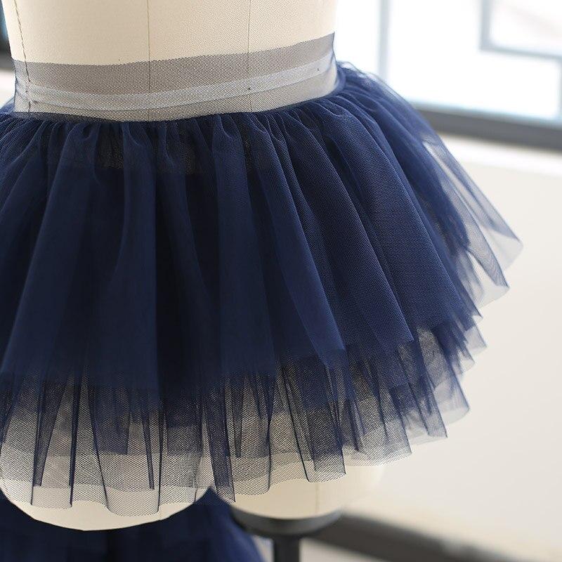 Новый 0,5 м/лот 26 см шириной 6 слойная кружевная отделка манжета Юбка для девочек платье Материал Diy текстильный Материал X715