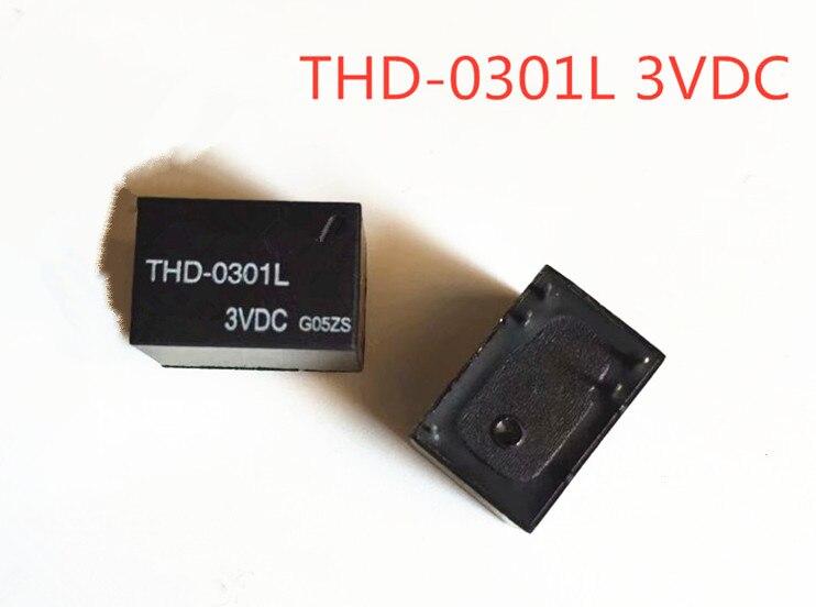 New import 2Pcs-5Pcs-20Pcs/Lot THD-0301L THD 0301L 3VDC Relay PIN5