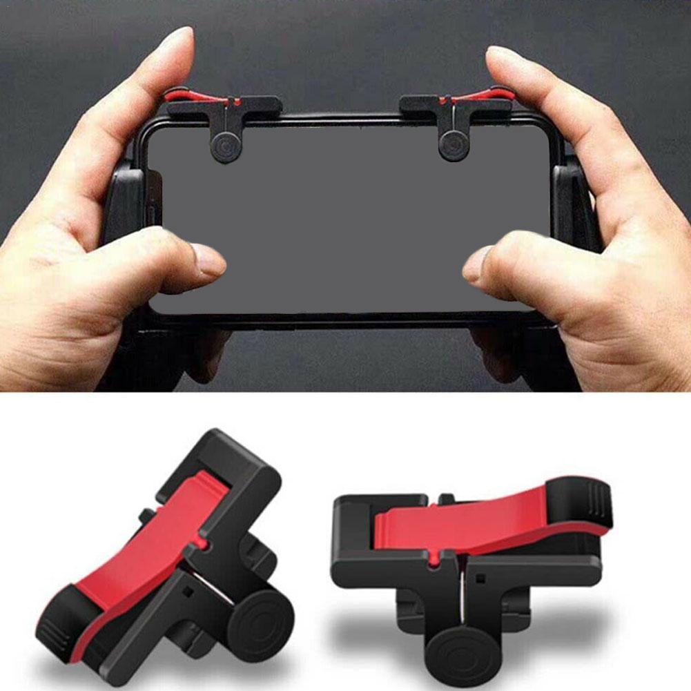 Mobile Game Controller Gamepad Plastic L1R1 Keypads Phone Joystick Shoot And Aim Triggers Mobile Key