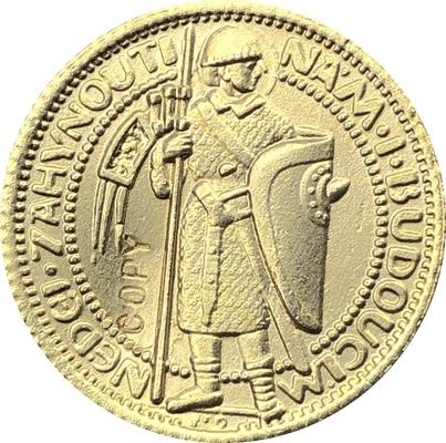 1923 Czechoslovakia 1 Ducat coins copy 20MM