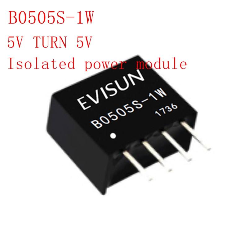 B0505S-1W B0505S B0505 SIP-4 5V TURN 5V módulo de potencia aislado