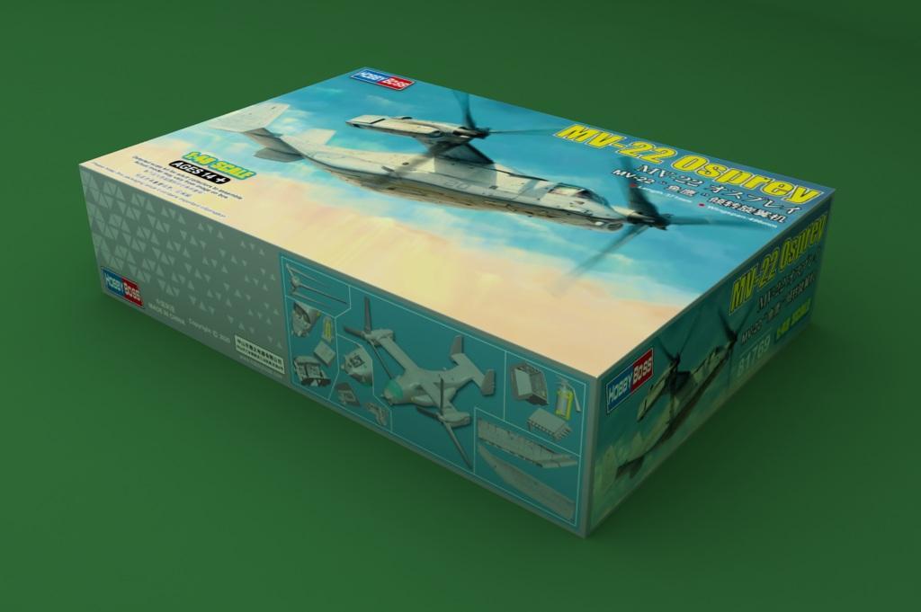 Hobbyboss 81769 148 escala MV-22 osprey plástico modelo kit